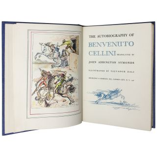 The Autobiography of Benvenuto Cellini [Signed, Limited]