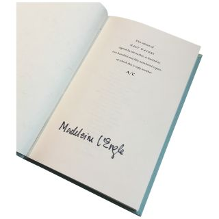 Many Waters [Signed, Limited Author's Copy]