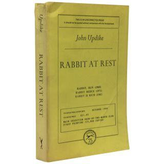 Rabbit At Rest [Uncorrected Proof]. John Updike