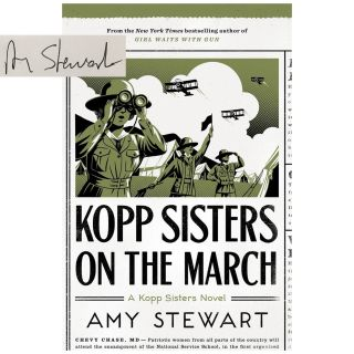 Kopp Sisters #5: Kopp Sisters on the March [Paperback]. Amy Stewart