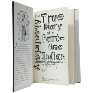 The Absolutely True Story of a Part-Time Indian. Sherman Alexie