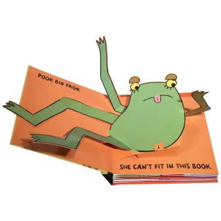 Big Frog Can't Fit In: A Pop-Out Book