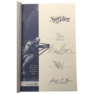 Night Visions 12 [Signed, Numbered]