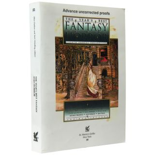 The Year's Best Fantasy and Horror: Eighth Annual Collection [Proof]