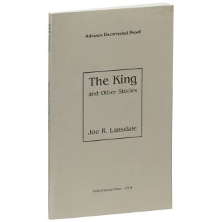 The King and Other Stories [Uncorrected Proof]