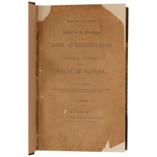 A Journal of the Proceedings of the House of Representatives of the General Assembly of the State of Florida at Its Tenth Session