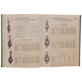 Sunde & d'Evers Co. Catalog No. C: Marine Hardware, Steamship Supplies, Cavnas Goods [cover title]
