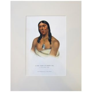 A-na-cam-e-gish-ca, a Chippeway Chief [Octavo]. Thomas L. McKenney, James Hall