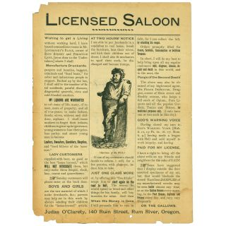 Licensed Saloon [caption title